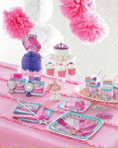 праздник в стиле принцессы