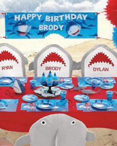 праздник с акулами декорпраздник