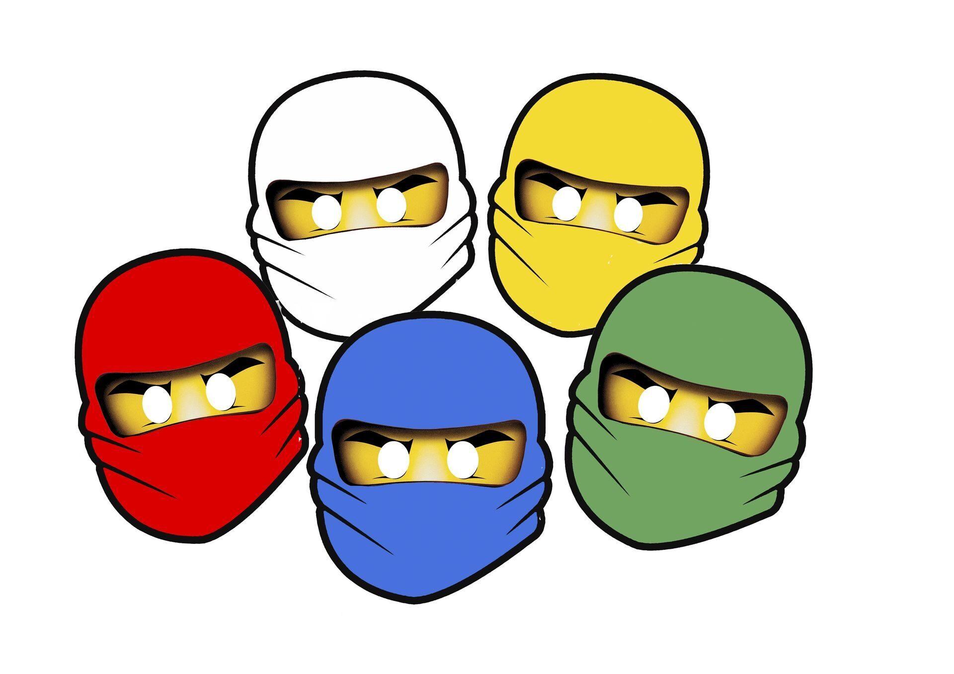 Маска Ninjago (Ниндзяго) 98897-PK1 Маска NINJAGO Джея LEGO 16