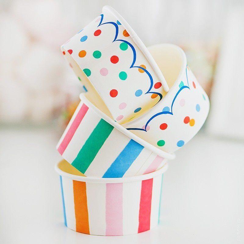 Стаканчики для мороженого своими руками 57
