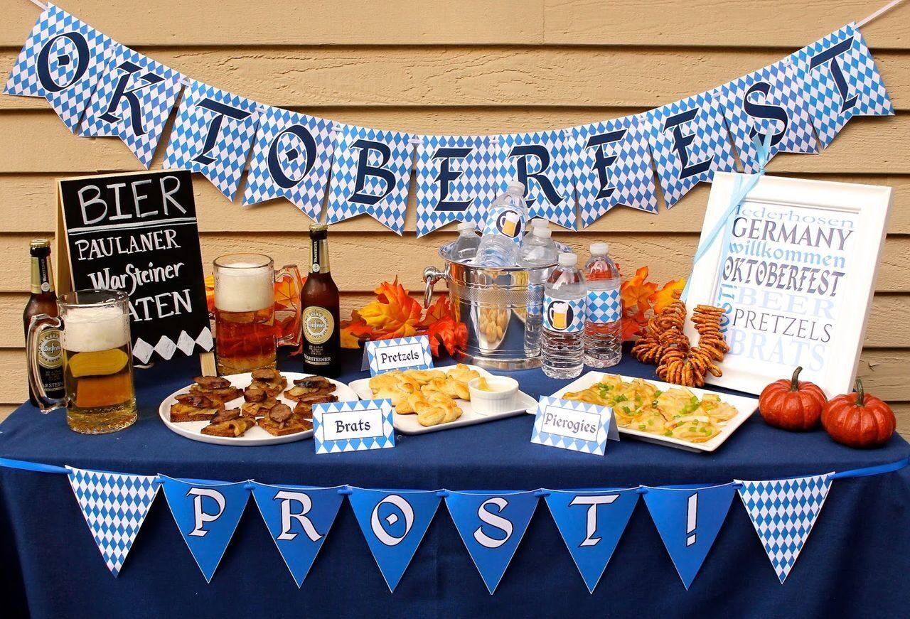Сценарий дня рождения пивная вечеринка