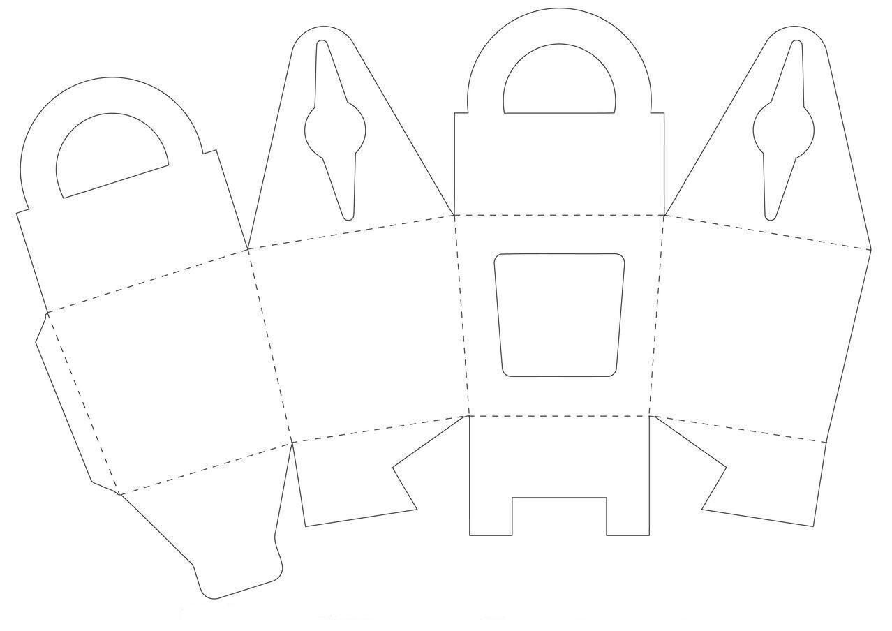 Коробочка для капкейков своими руками