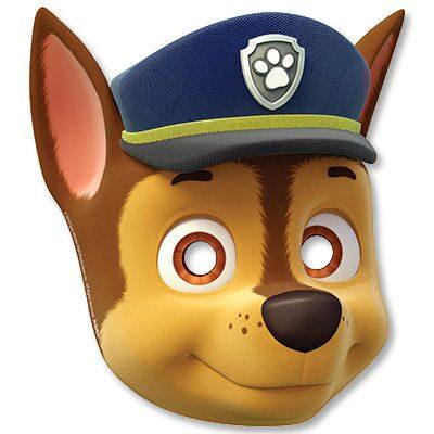 Маска щенячий патруль своими руками