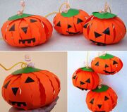 pumpkin-paper-craft-tutorial-halloween-decor-kids