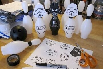 Star-Wars-Party-Idea-Bowling