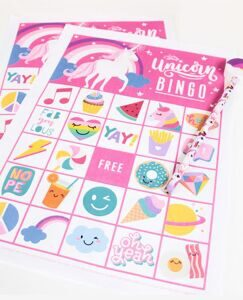 Free-Printable-Unicorn-Bingo-Cards