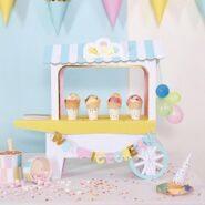 Композиция на стол Мороженое (Ice Cream Cart Centerpiece)