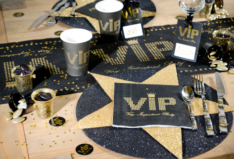 occasionsmade VIP range party table decorations