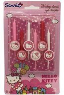 **Свечи для торта Хелло Китти (Hello Kitty), 6 штук