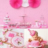 Pink-Girlie-First-Birthday-Party