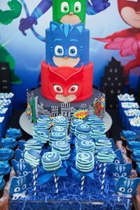 PJ-Masks-Superhero-Birthday-Party-via-Karas-Party-Ideas-KarasPartyIdeas.com57