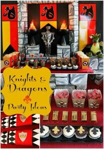 dragon-knight-party-ideas-for-boys