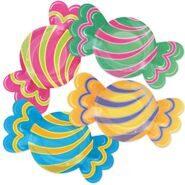 """Тарелки фигурные """"Конфетки"""" для вечеринки """"Сладкий Праздник"""", 2916 см, 8 шт"""