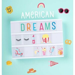 "Набор символов для Лайтбокса ""Американская мечта"" (Lightbox letter set: American Dreams), 57 шт"