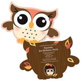 Owl-Girl-Shaped-Birthday-Party-Invitations